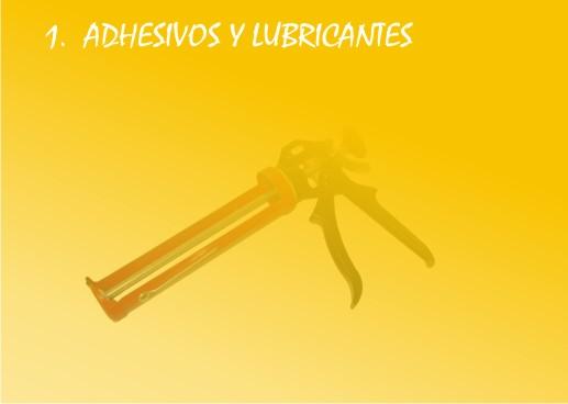 Adhesivos y lubricantes