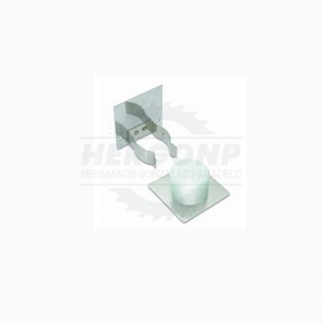 Tope + Retenedor Inox B7822