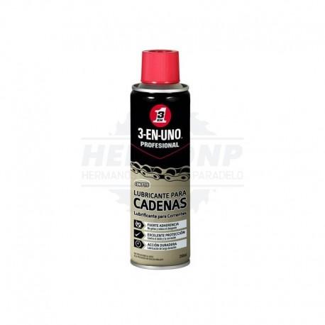Lubricante para Cadenas en spray 3-EN-UNO PROFESIONAL